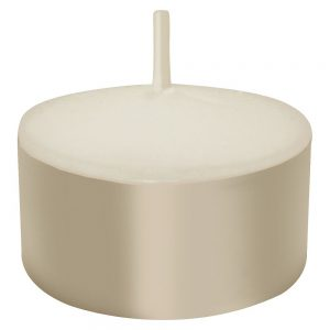 7 Hour Tea Light Candles - White (100 Count)