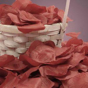 Silk Red Rose Petals - Wedding Packaging by Paper Mart