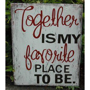 together-favorite-place-rustic-vintage-wedding-sign