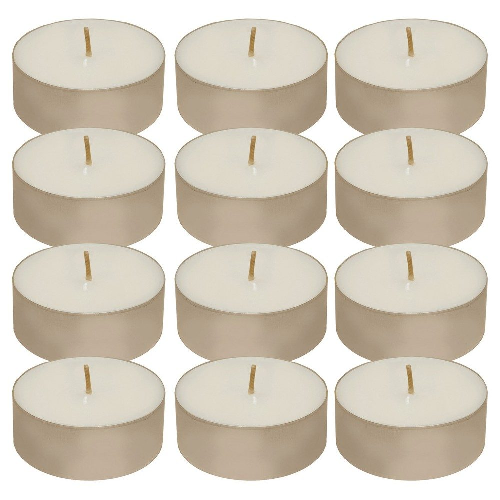 12ct Tea Light Candle White