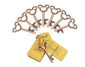 50 Mickey Mouse key bottle openers Copper Wedding Favors Fish Extender Gifts FE Gifts Party Favor Disney Cruise Rustic Copper Vintage keys