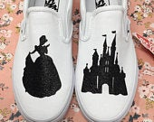 Cinderella Shoes. FREE Personalizations. Cinderellas Castle Shoes. Cinderella Vans Cinderella Silhouette Shoes. Cinderella Toms