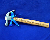 Father Of The Groom Gift Dad Gift Step Dad Gift Personalized Hammer Wedding Gift For Dad To Dad From Son Christmas Gifts For Dad