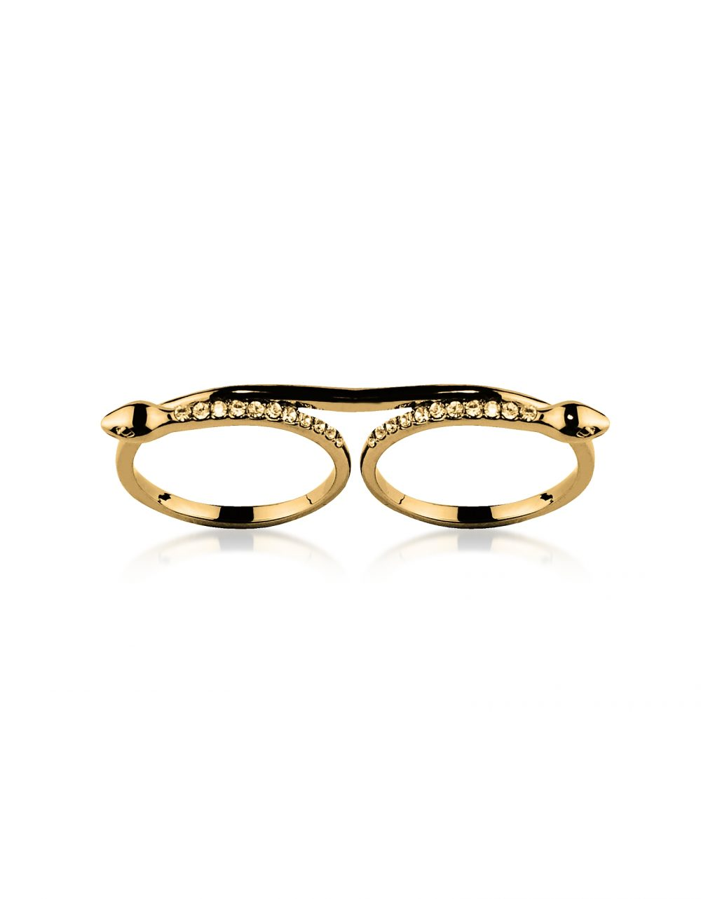 Federica Tosi Rings Double Snake Ring