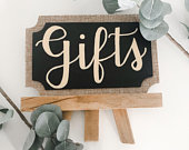 Gifts sign Gifts Cards and Gifts Wedding signs Wedding decorations Wedding Chalkboard signs Bridal Shower Baby Shower