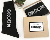 Groom Socks from Bride In Case You Get Cold Feet Sock Label Cold Feet Socks for Groom Gift from Bride (EB3258GM)