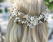 High Quality Bridal Hair Vine With A Lot OF Bling, Wedding Hair Accessory
