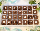 I Cant Wait To Be Your Husband Chocolates Grooms Gift to Bride Gift from Groom to Bride on Wedding Day Wedding Day Chocolates
