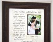 I LOVED HER FIRST, Dad Thank You Wedding Gift for Father from Daughter to Father, Father of the Bride wedding gift for Dad from Daughter