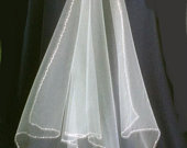 Ivory Couples Unity Ceremony Veil Filipino Ceremony Bridal Wedding Accessories