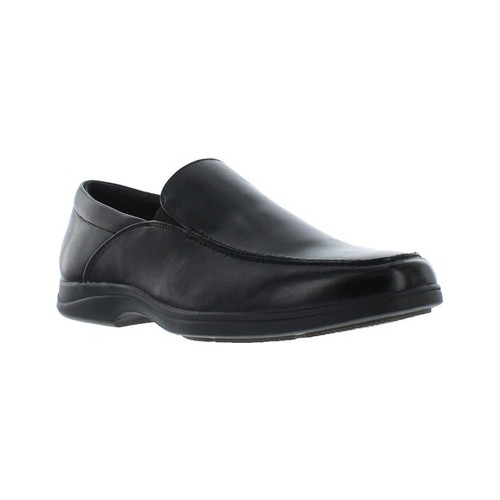 Men's Giorgio Brutini Abrams Moc Toe Slip On, Size: 10.5 M, Black Synthetic