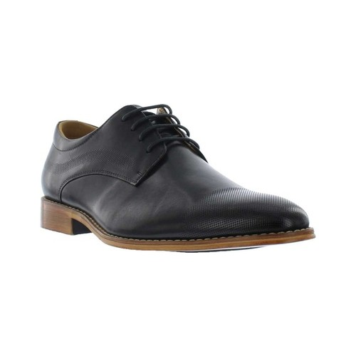 Men's Giorgio Brutini Coolidge Cap Toe Oxford, Size: 13 M, Black Leather