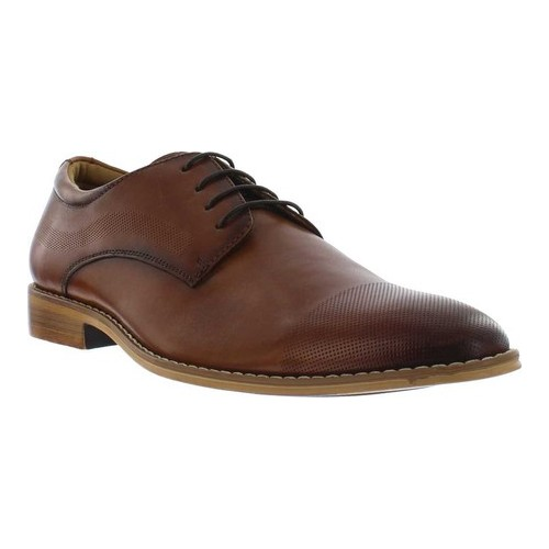 Men's Giorgio Brutini Coolidge Cap Toe Oxford, Size: 13 M, Cognac Leather