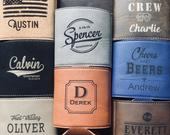 Personalized Can Cooler, Groomsmen Gift, Beer Gift, Engraved Can Coolers, Custom Wedding Favor, Drink Cooler, Personalized Gift, Beer Cooler