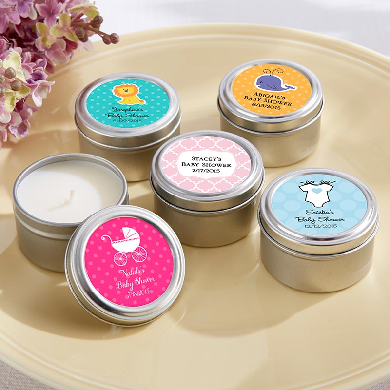 Personalized Candle Tin (Baby)