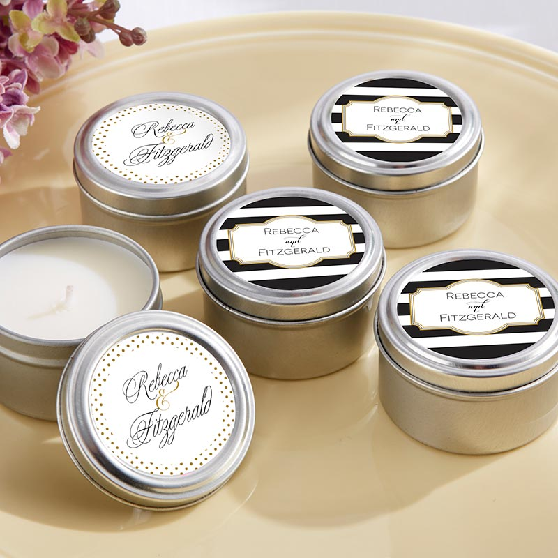 Personalized Classic Travel Candle