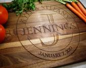 Personalized Cutting Board Custom Cheese Board Charcuterie Housewarming Wedding Gift Engagement Present Couple Cutting Board