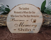 Personalized Pet Memorial Wood Slice, Engraved Wood Slice, Wood Slice, Log Slice, Cabin Decor, Christmas Decor, Christmas Gift, Friend Gift