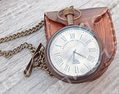 Pocket Watch, Groomsmen Gift, Engraved Watch, Custom Pocket Watch, Rustic Watch, Corporate Gift, Retirement Gift, Unique, Vintage Watch