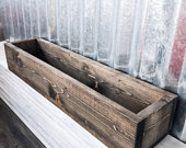 Rustic centerpiece box, harvest table, wood, wedding, long, wooden, simple, decorating, table scape, home, seasonal