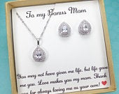To my Bonus mom,Stepmother of the Bride Gift, Stepmother of the Groom Gift, stepmother wedding gift,Gifts for Step mom,gift from bride