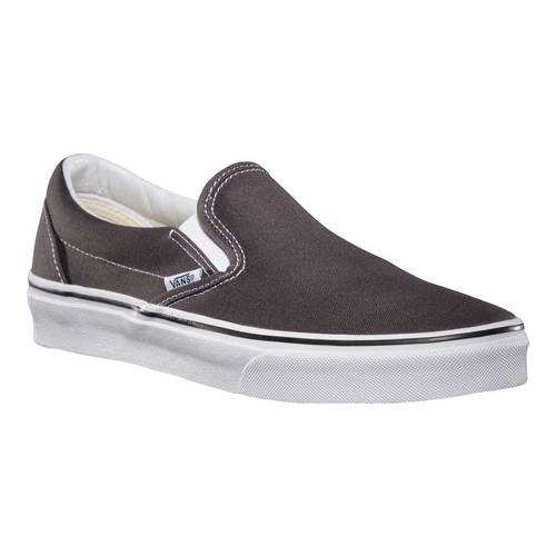 Vans Classic Slip-On, Size: 15 M, Charcoal Canvas