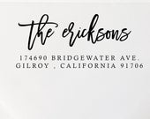 Wedding Address Stamp, Wedding Stationery, Address Stamp, Address Label, Return Address Stamp, Custom Stamp, Housewarming Gift (122a)
