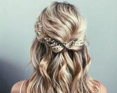 Wedding Hair Vine Bridal Hair Vine Bridal hair accessories Wedding Hair Accessories Rose Gold Bridal Hair Vine Silver Bridal Hair vine
