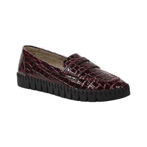 Women's J. Renee Brooklyn Penny Loafer, Size: 8 M, Burgundy Synthetic