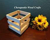 Wooden Crate Centerpieces, Wedding Centerpiece Crate, Wood Crate, Mason Jar Crate, Wooden Crate, Reception Centerpiece, Wedding Decorations