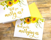 will you marry us card to ask officiant wedding officiant card gift will you help us tie the knot SUNBEAMS